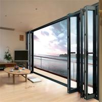 Buy cheap Tempered Single Glass Aluminum Alloy Door Commercial Against Insects from wholesalers