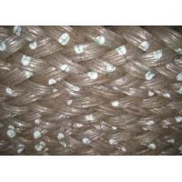 Buy cheap Low Carbon Galvanized Baling Wire , Electro Hot Dipped 3mm Galvanized Steel Wire from wholesalers