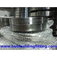 Buy cheap Stainless Steel WNRF Forged Steel Flanges ASTM A 182 GR F1 F11 F22 F5 F9 from wholesalers