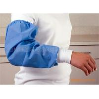"""Buy cheap Free Sample Plastic Disposable Waterproof Arm Sleeve Protectors18"""" Oil  Proof product"""