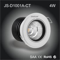 Buy cheap recessed led down lights 1 inch 4w adjustable led downlight ceiling light 110v from wholesalers