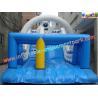 Buy cheap Outside Commercial grade 0.55mm PVC tarpaulin waterproof Inflatable long slip n slides from wholesalers
