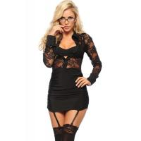Buy cheap Naughty Executive Lady Halloween Adult Costumes , Black Sexy Adult Princess Costume from wholesalers