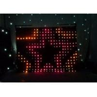 Buy cheap TV Show RGB Backdrop P15 cm Indoor LED Curtain , KTV LED Vision Cloth from wholesalers