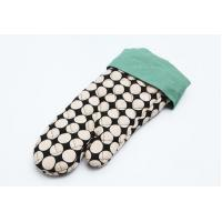 Buy cheap Customized Heat Resistant Oven Mitts  Ant Slip Heat Resistance Surface product