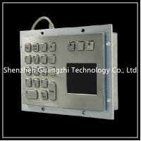 Buy cheap Kiosk / Vending Machine Touch Screen Keyboard , Keyboard With Integrated Touchpad from wholesalers