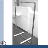Buy cheap Clothes Display Rack/ Metal Floor Display Stand / Garment display rack / Clothes Fixture from wholesalers