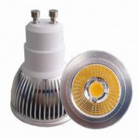 Buy cheap 50W Halogen Replacement 6W LED Spotlight GU10, 85 to 265V AC, CE, RoHS Marks from wholesalers