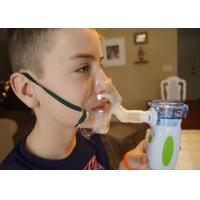 Buy cheap Mini Baby Inhaler Compressor Mesh Portable Nebulizer Machine For Treating Colds , Low Noise from wholesalers