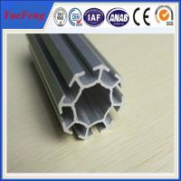 Buy cheap 6063 t5 aluminum profile for exhibition booth, easy to assemble aluminium tubes from wholesalers