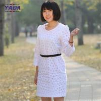 Buy cheap Ladies long sleeves embroidery dress casual wear latest ladies office dresses women party from wholesalers