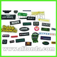 Buy cheap Custom cheap high quality pvc silicone clothing apparel bags badge and patch from wholesalers