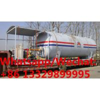 Buy cheap customized 50,000Liters skid propane gas station with 4 electronic filling scales for sale, mobile skid lpg gas plant from wholesalers