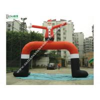 Buy cheap Huge Inflatable Santa Claus Arch with 1st Class PVC Coated Nylon from wholesalers