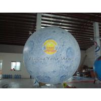 Buy cheap Big Reusable Inflatable Advertising Earth Globe Balloons for science demonstration from wholesalers