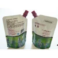Buy cheap Colorful Printing Liquid Spout Bags , Customized Stand Up Pouch With Spout from wholesalers