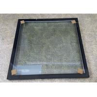 Buy cheap Insulated Glass Panels With Black Frame / Sound Proof Insulated Replacement Glass from wholesalers