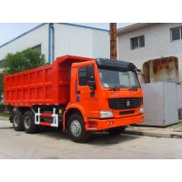 Buy cheap 20CBM Heavy Duty Dump Truck Euro 2 31 - 40t Manual Transmission Type from wholesalers