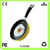 Buy cheap Plastic pan clock/kitchen wall clock/hot sell from wholesalers