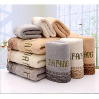 China 100% cotton grey guest turkish personalized towels embroidery for face on sale