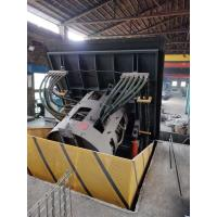 Buy cheap Medium Frequency Hydraulic Steel shell furnace  KGPS-500KW/750kg from wholesalers