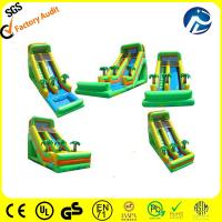 Buy cheap hot selling inflatable water slide from wholesalers