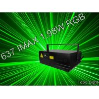 Buy cheap Pangolin Laser Show DMX Control 637 IMAX 1.98W Laser Light from wholesalers