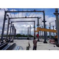 Buy cheap High Intensity Prefabricated Steel Structures Building Shed Design Corrosion Resistance from wholesalers