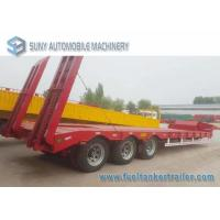 Buy cheap Load Capacity 45 T 50 T 3 Axles semi truck trailer Lowbed Hydraulic Legs from wholesalers