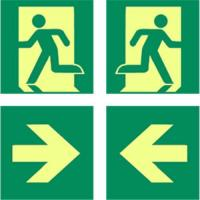 Buy cheap Photoluminescent  exit sign, signs lighting,glow sign from wholesalers