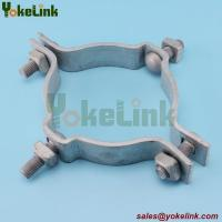 Buy cheap Secondary Rack Pole Mounting Bands galvanized steel pole band for pole line hardware from wholesalers
