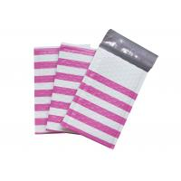 Buy cheap Pink Strip Poly Bubble Mailers , Customized Decorative Poly Mailing Bags from wholesalers