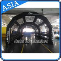 Buy cheap Colorful Large Inflatable Tents Baseball Inflatable Batting Cage High Durability from wholesalers
