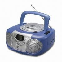 Quality Boom Box MP3 and CD Player with AM/FM Two Band Radio and Built-in Speaker for sale