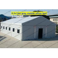 Buy cheap Emergency Gray PVC Military Army Tent 8.5 x 15m With Rolling Windows And Doors from wholesalers