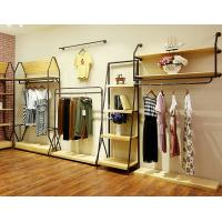 Buy cheap Durable Lady'S Clothing Display Racks Shop Clothes Rack Fashionable Design from wholesalers