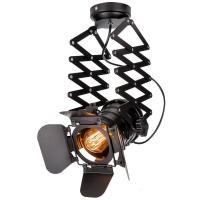 Buy cheap Probe Industrial Flush Mount Ceiling Light Black Track Spotlights For Clothes Store from wholesalers