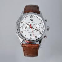 Buy cheap stainless steel watch Miyota movement 5ATM men's watch SS Watch factory OEM SS Watches genunine leather strap watches from wholesalers