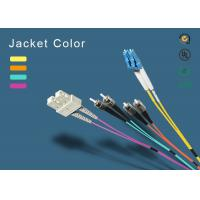 Buy cheap SC Fiber Patch Cord 100% Insertion Loss Less  from wholesalers