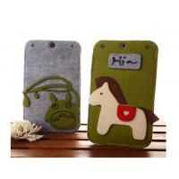 Buy cheap Beautifull good quality felt custom waterproof cell phone case wholesale from wholesalers