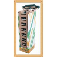Buy cheap Cardboard PDQ Product Display Box 30cm Wood Block For supermarket from wholesalers