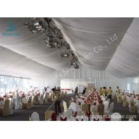 Buy cheap 20m Width Outdoor Event Tents , Full Decorations Large Tents For Outdoor Events from wholesalers