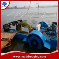 Buy cheap hot sale customized aquatic weed harvester in river lake dam water weed harvesting machine product
