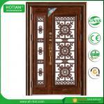 Buy cheap outside door house main gate designs metal security door residential steel door from wholesalers