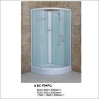 Buy cheap Fabric Glass Quadrant Shower Enclosures , Sliding Door Shower Room 900*900*2000mm from wholesalers