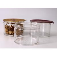 Buy cheap Round Clear Small Plastic Containers Capacity 30 Gram / Protein Powder Packaging from wholesalers