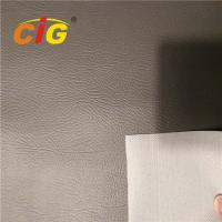Buy cheap 100% PVC Synthetic Leather 0.8MM Thickness , PVC Faux Leather Waterproof product