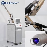 Buy cheap Medical CE Approval nd yag laser tattoo removal 1064nm & 532nm Q switch Nd Yag Laser Tattoo Removal Machine from wholesalers
