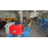 Buy cheap 77mm Fly Saw Cutting Automatic PU Rolling Shutter Slat Strip Door Forming Machine for Europe Market from wholesalers