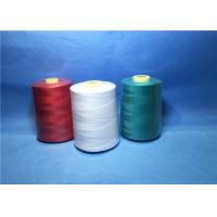 Buy cheap Plastic Cone Dyed Polyester Industrial Sewing Thread For Textile / Garment from wholesalers